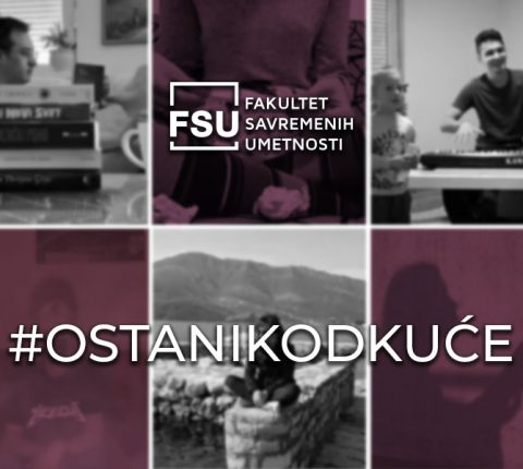 Stanje vanredno, kreativnost redovna: Studenti FSU u akciji #OSTANIKODKUĆE
