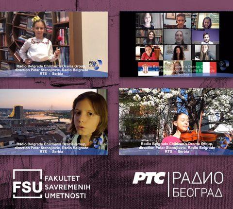 """Profesor FSU i njegova dečja dramska grupa autori videa koji će otvoriti konkurs za festival """"PRIX ITALIA"""""""