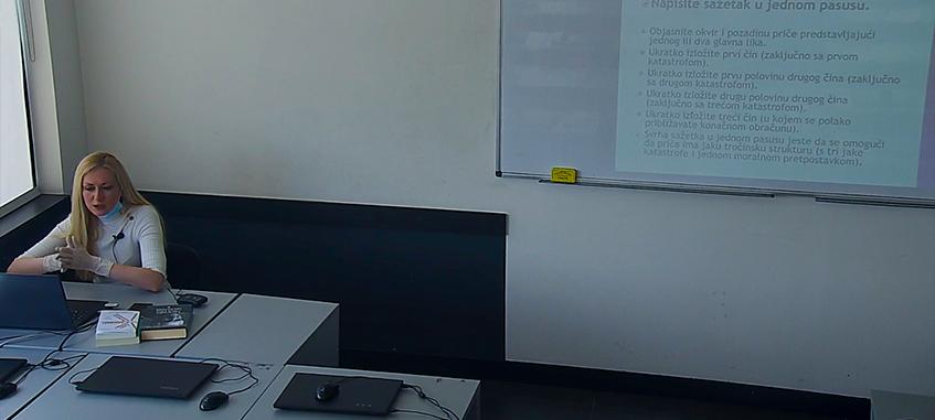 Live stream predavanje Kreativno pisanje