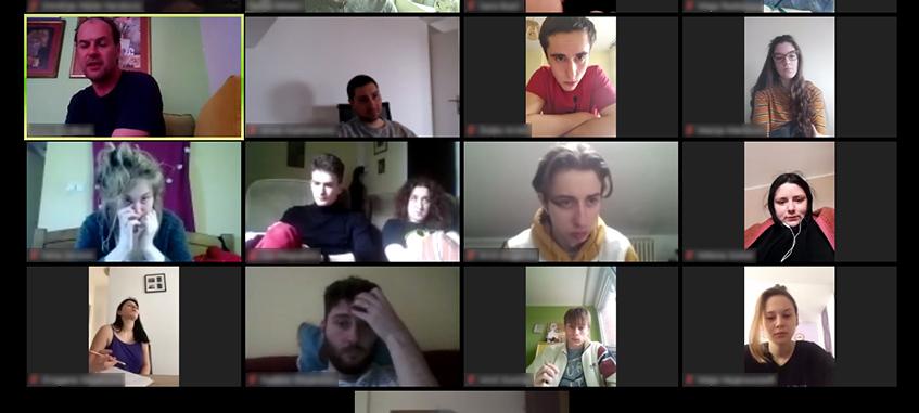 Live stream predavanje Pozorišna gluma 2