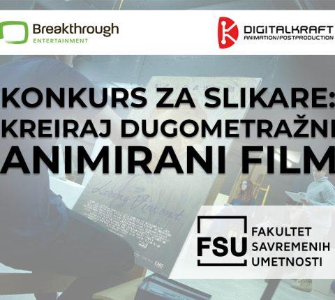 Prijavite se na konkurs i zajedno sa slikarima iz celog sveta kreirajte animirani film