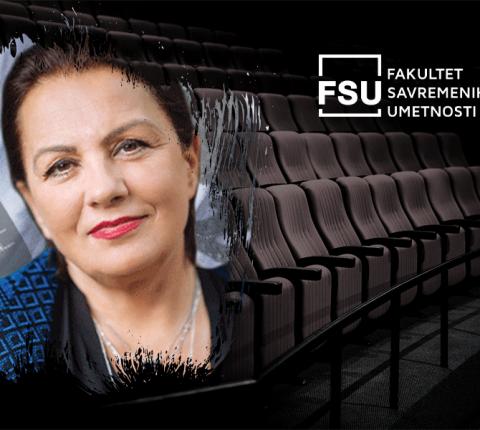 Proslavljena glumica Ljiljana Blagojević uzima novu klasu glumaca na FSU!