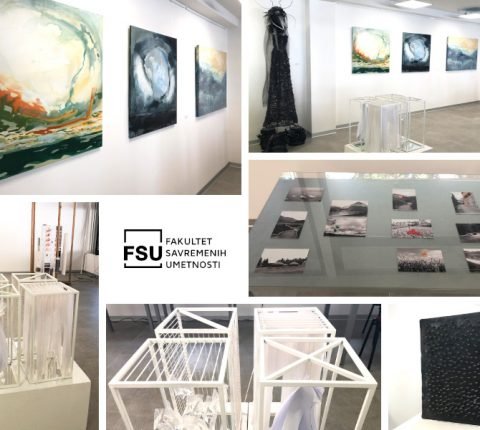 Student exhibition at FCA gallery