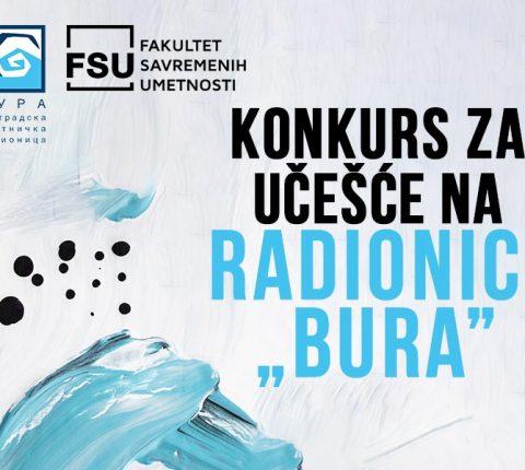 """Poznata imena učesnika Beogradske umetničke radionice """"BURA"""""""