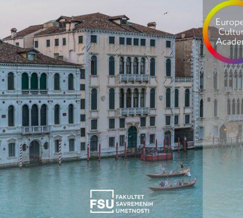 Evropska kulturna akademija vas poziva na dvonedeljnu radionicu u Veneciji
