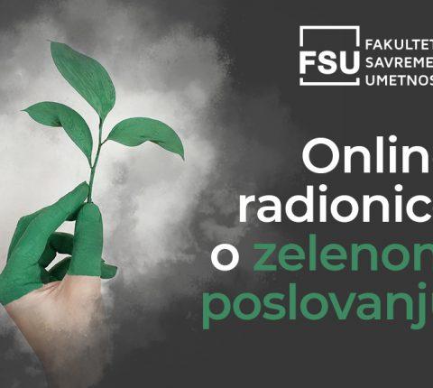 Online radionice o zelenom poslovanju