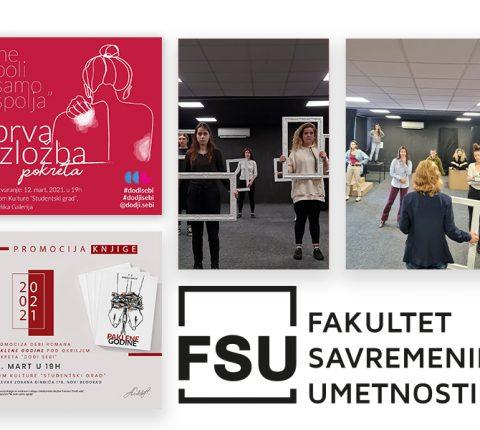 """Promocija knjige i performans mladih glumaca sa FSU u DK """"Studentski grad"""""""