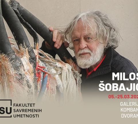 Izložba Miloša Šobajića otvorila Galeriju Kombak dvorane