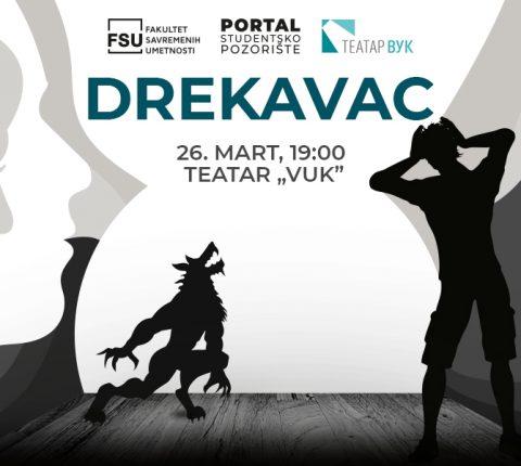 """""""Drekavac"""" na daskama Ustanove kulture Vuk"""""""