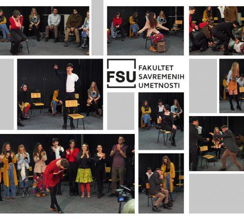 Studenti glume sa FSU ponovo na sceni Narodnog pozorišta