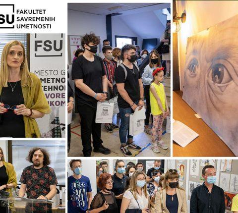 Dođite na izložbu radova sa Velikog konkursa za srednjoškolce kreativce do 14. juna u Galeriji FSU!