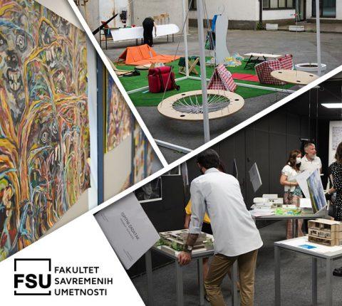Družimo se do kraja leta: Posetite Veliku izložbu studenata vizuelnih umetnosti na FSU!
