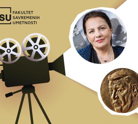 "Ljiljana Blagojević, professor at FCA, receives ""Pavle Vuisić"" award"